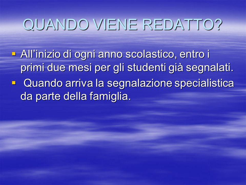 ITER  Segnalazione specialistica.