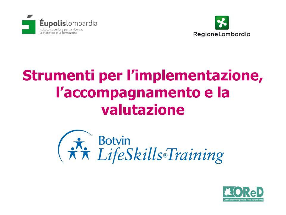 Strumenti per l'implementazione, l'accompagnamento e la valutazione