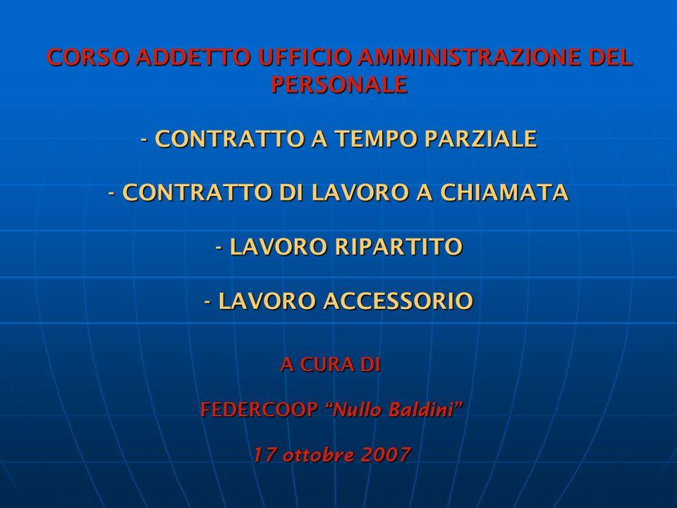LAVORATORE COLPITO DA PATOLOGIE ONCOLOGICHE – ART.13 D.Lgs.