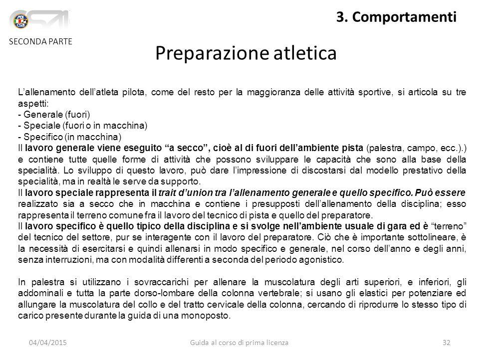 04/04/2015Guida al corso di prima licenza32 SECONDA PARTE 3.