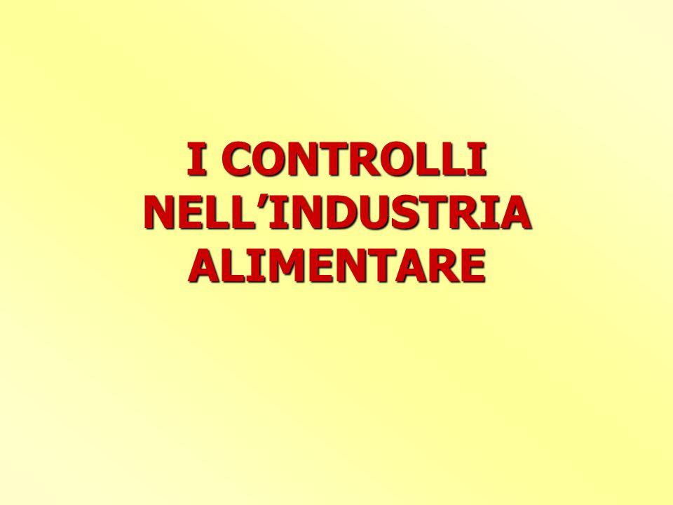 IL CONTROLLO UFFICIALE 5.