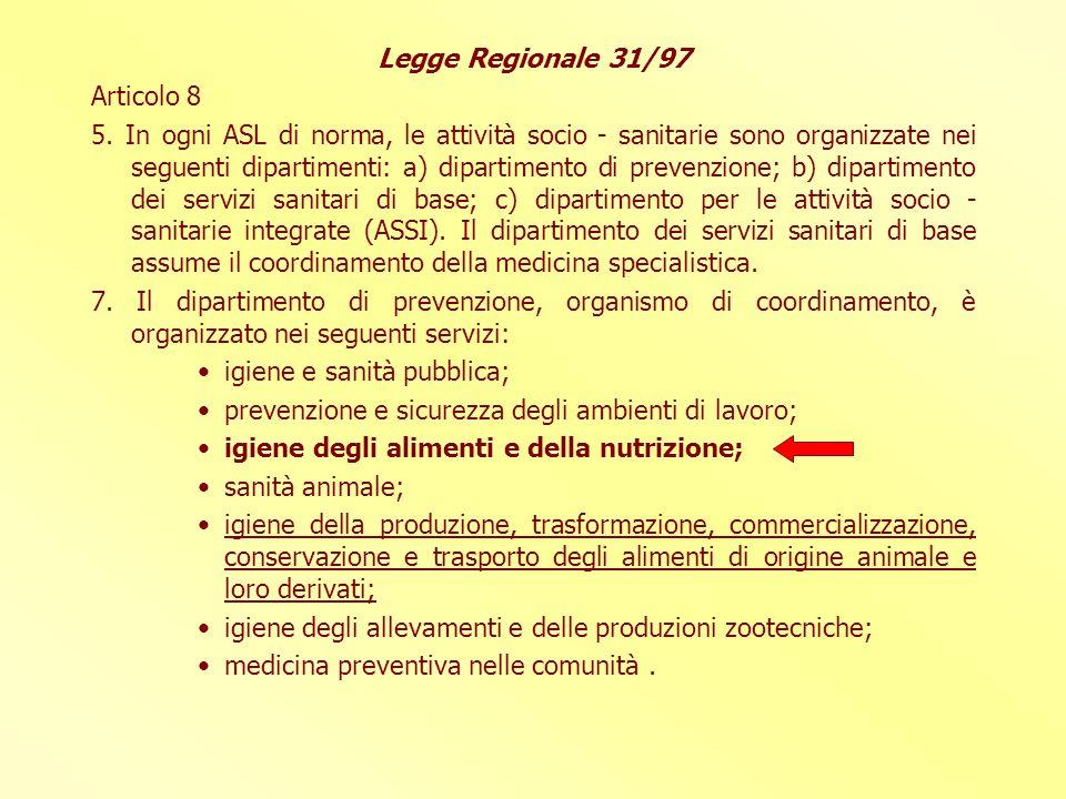 LEGGE REGIONALE N.32/2002 Articolo 3. Alla legge regionale 11 luglio 1997, n.