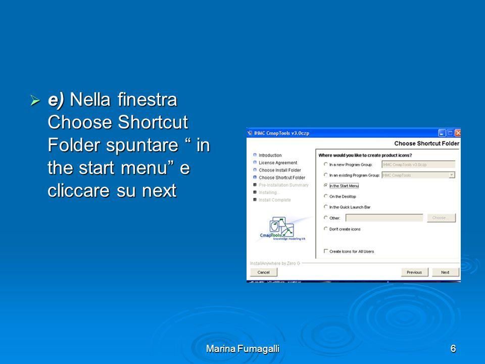 Marina Fumagalli7  f) Si aprirà la finestra Pre-installation Summary, cliccare su Install