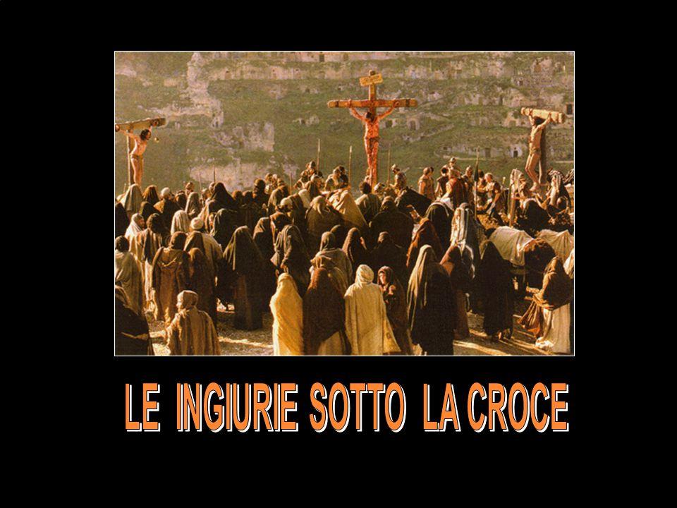 quindi gli venivano davanti e gli dicevano: Salve, re dei Giudei! .