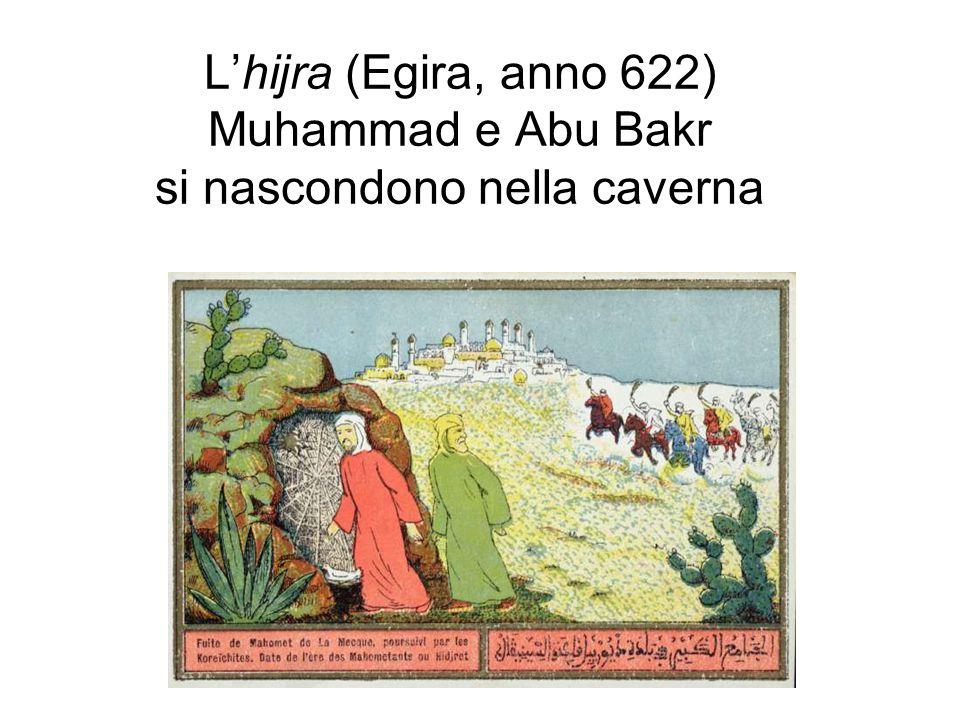L'isrā', il viaggio miracoloso Altro episodio miracoloso, databile intorno al 620, il viaggio verso Gerusalemme e l'ascensione (mi'raj) al cielo in groppa al cavallo alato Buraq.