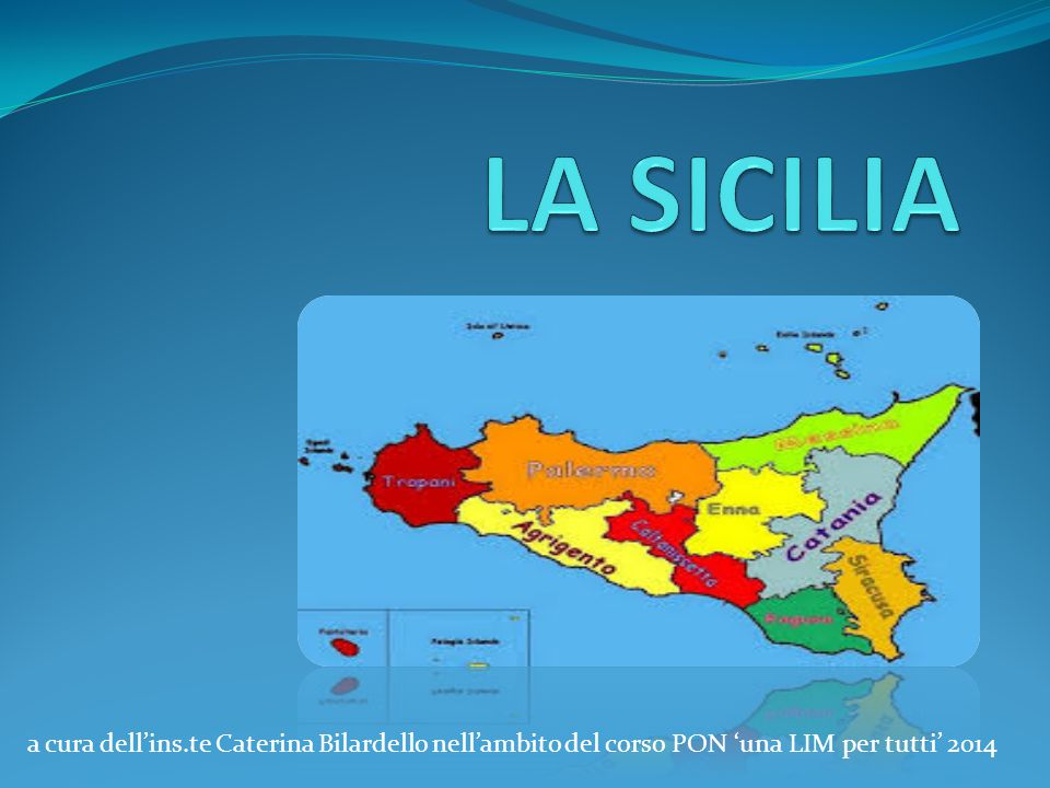 a cura dell'ins.te Caterina Bilardello nell'ambito del corso PON 'una LIM per tutti' 2014