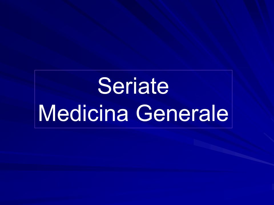 Seriate Medicina Generale
