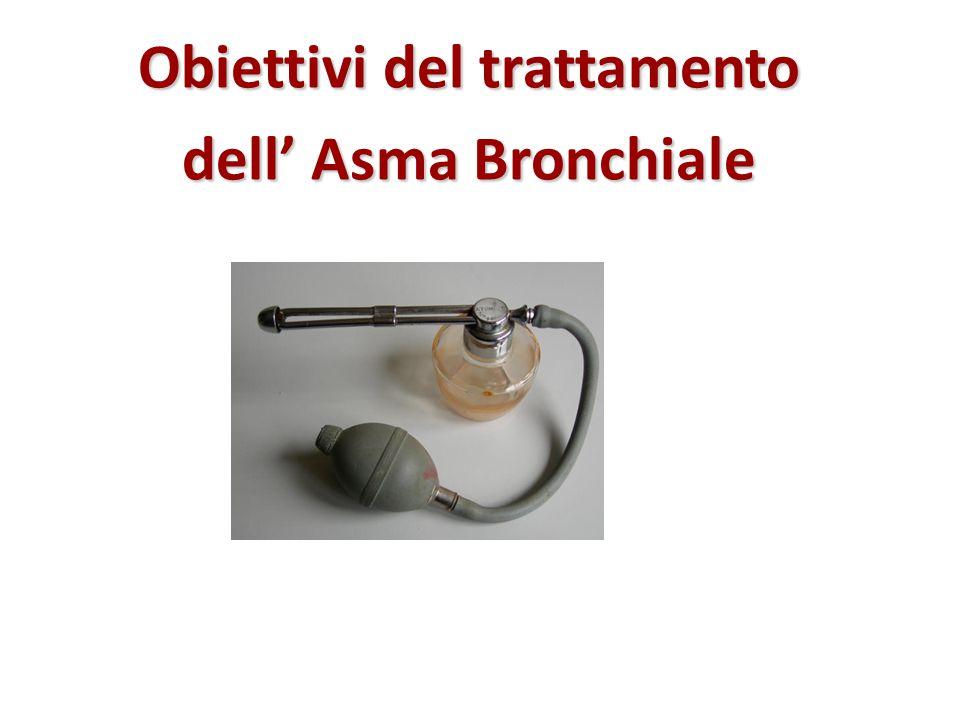 Obiettivi del trattamento dell' Asma Bronchiale