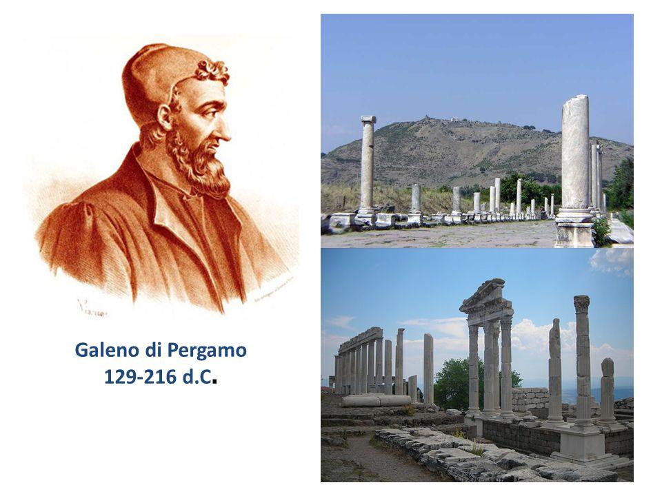 Galeno di Pergamo 129-216 d.C.