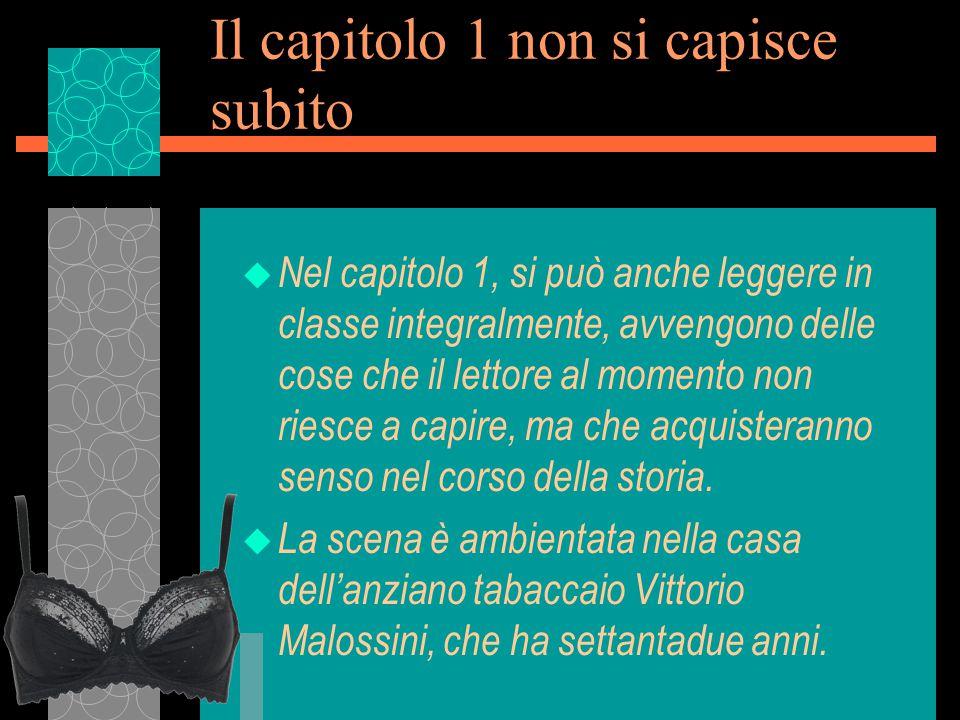 Lo sviluppo delle indagini u A capo della squadra si trova il sostituto procuratore Zanetti (quello che aveva per prima intuito il possibile movente passionale, confrontando le età di Malossini e di sua moglie) non sempre in sintonia con il procuratore generale Martinelli.