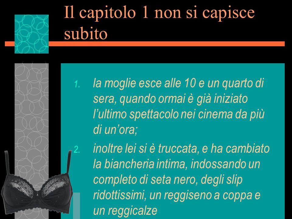 Capitoli 5-12 u Fasson l'aveva indirizzato proprio al negozio nel centro di Brescia di Vittorio Malossini, che catechizza Petri sulle varie tipologia di pipe e di tabacco, per poi fargli pagare un conto salato, senza neanche la ricevuta fiscale.