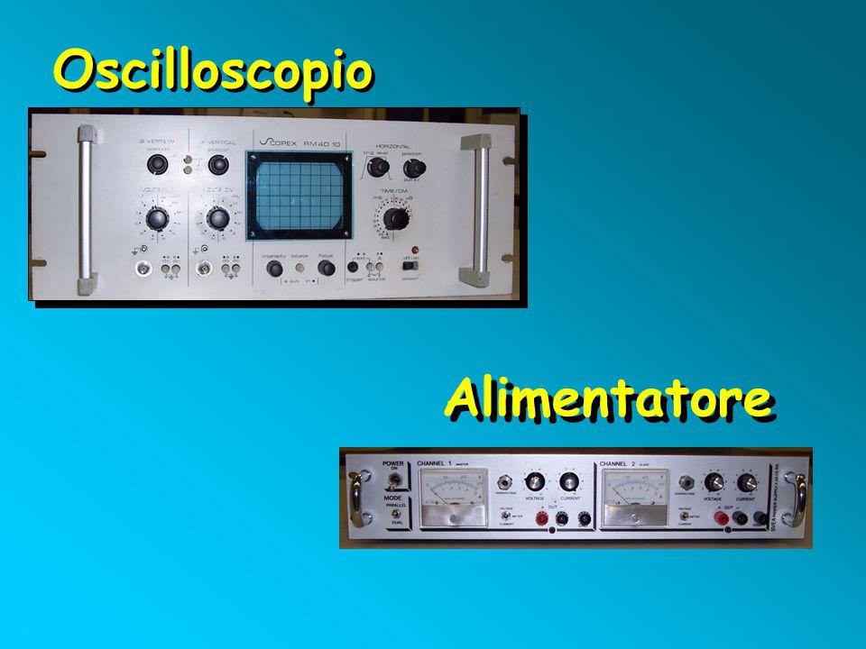 Oscilloscopio Alimentatore