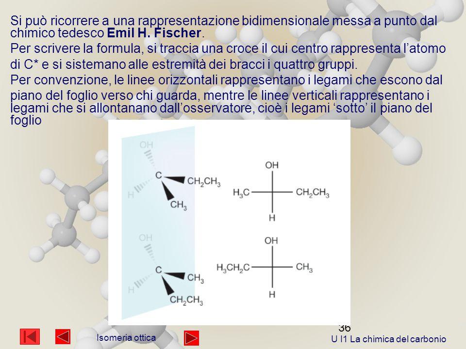 36 Si può ricorrere a una rappresentazione bidimensionale messa a punto dal chimico tedesco Emil H.