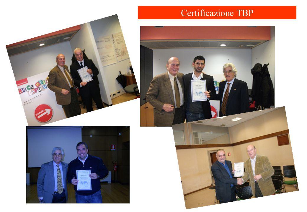 Certificazione TBP