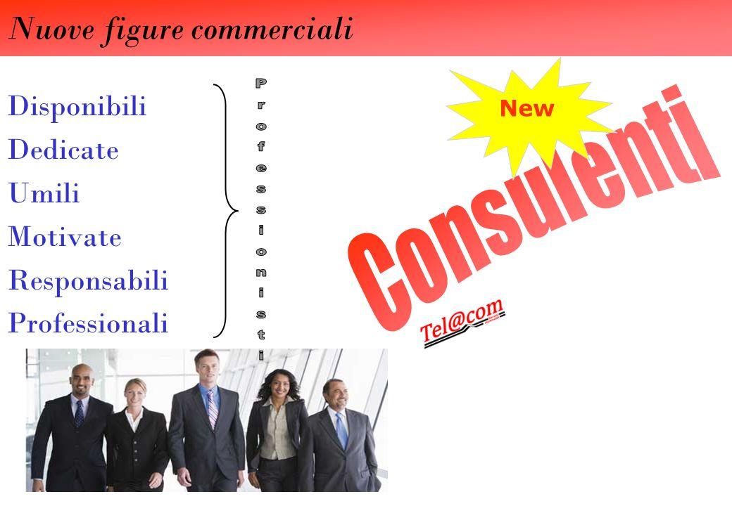 Disponibili Dedicate Umili Motivate Responsabili Professionali New Nuove figure commerciali