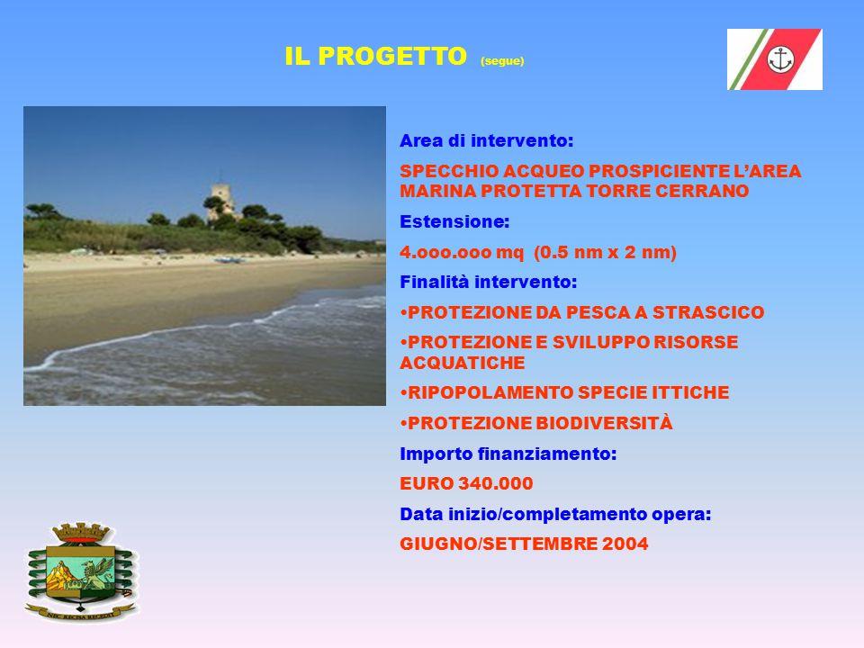 DETTAGLIO AREA di INTERESSE: Area Marina Protetta Torre del Cerrano – ZONA D BARRIERE e STRUTTURE SOMMERSE ricadono all' INTERNO DELLA ZONA D Area Marina Protetta Torre del Cerrano (zona di protezione ex D.M.