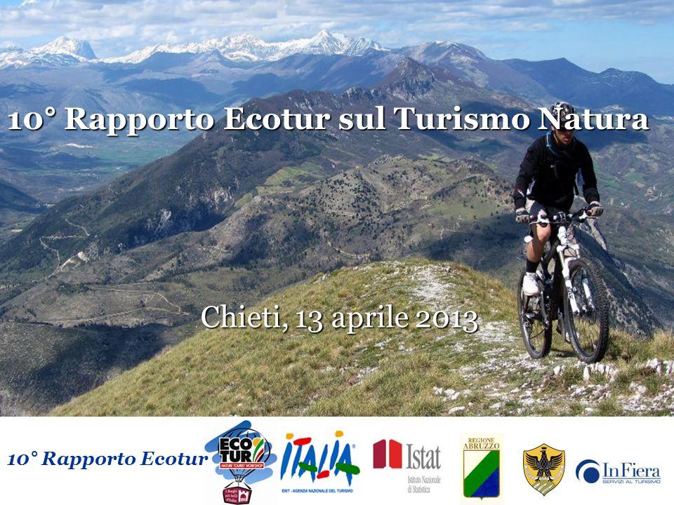 10° Rapporto Ecotur sul Turismo Natura Chieti, 13 aprile 2013 10° Rapporto Ecotur 10° Rapporto Ecotur sul Turismo Natura Chieti, 13 aprile 2013