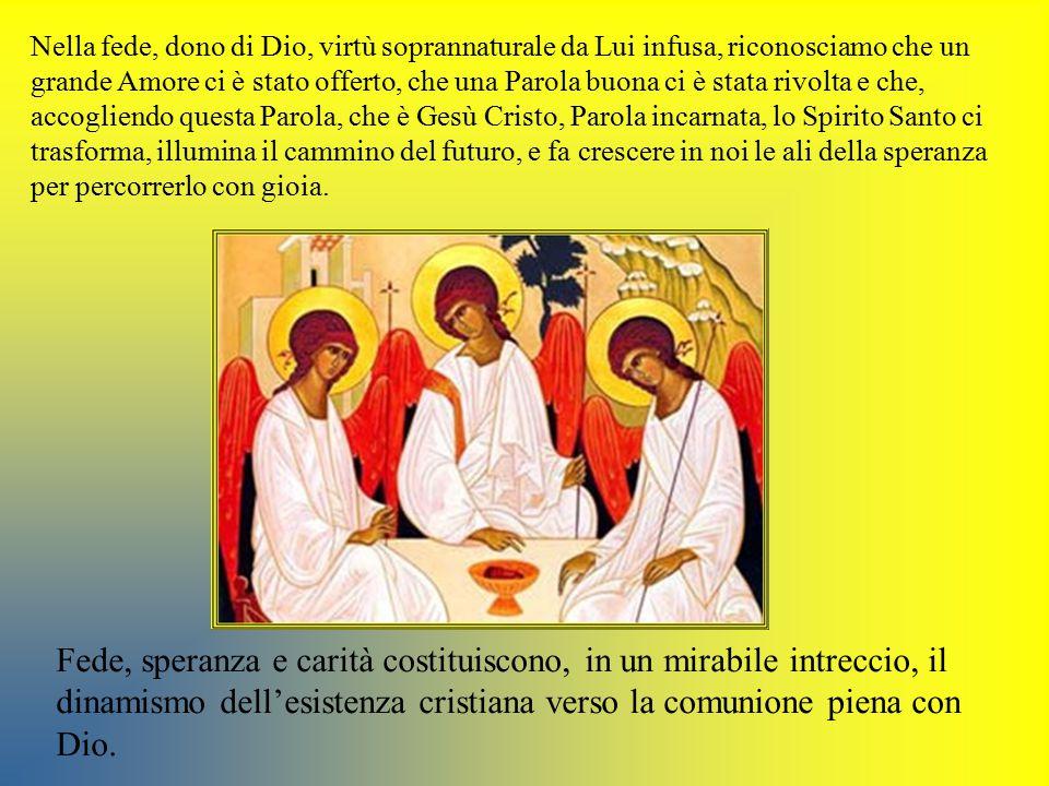 Il Successore di Pietro, ieri, oggi e domani, è… sempre chiamato a confermare i fratelli in quell'incommensurabile tesoro della fede che Dio dona come luce sulla strada di ogni uomo.