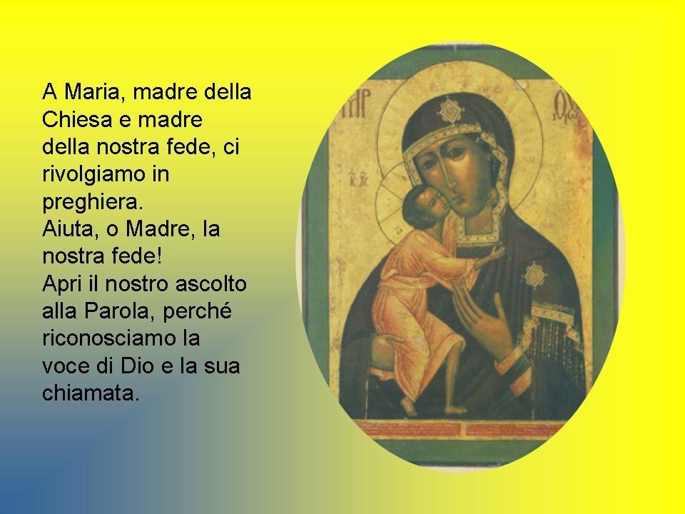 Al centro della fede si trova la confessione di Gesù, Figlio di Dio, nato da donna, che ci introduce, per il dono dello Spirito Santo, nella figliolanza adottiva (cfr Gal 4,4-6).