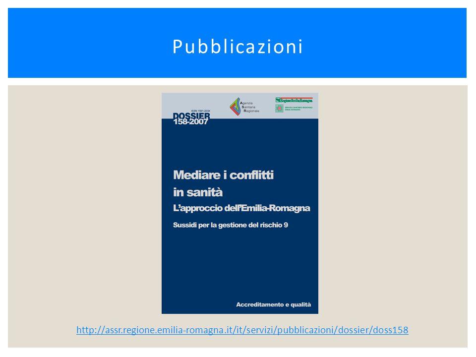 Pubblicazioni http://assr.regione.emilia-romagna.it/it/servizi/pubblicazioni/dossier/doss158