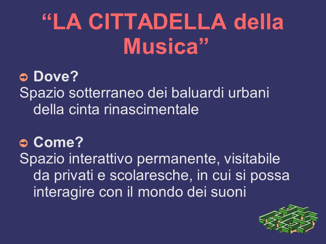 LA CITTADELLA della Musica ➲ Dove.