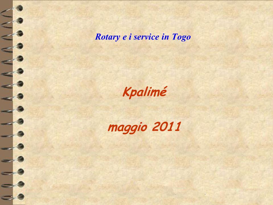 Rotary e i service in Togo Kpalimé maggio 2011