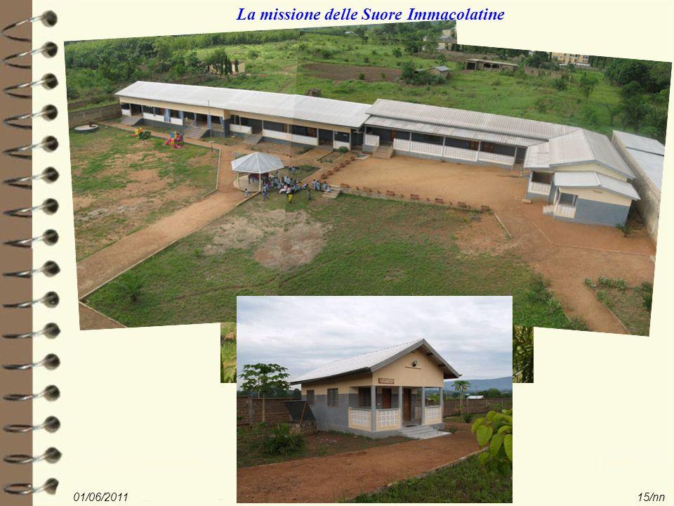 01/06/2011Rotary i service in Togo15/nn La missione delle Suore Immacolatine
