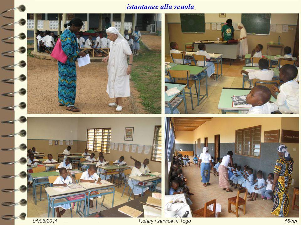 01/06/2011Rotary i service in Togo16/nn istantanee alla scuola
