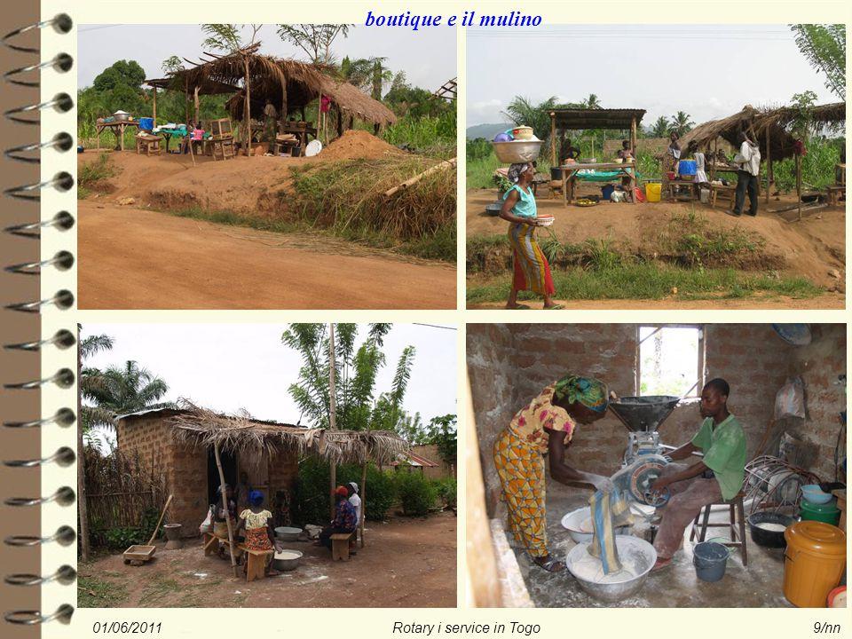 01/06/2011Rotary i service in Togo9/nn boutique e il mulino