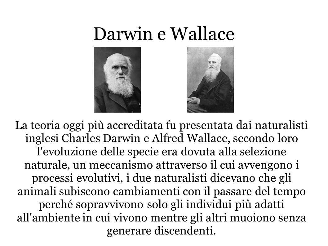 Darwin o Lamarck.