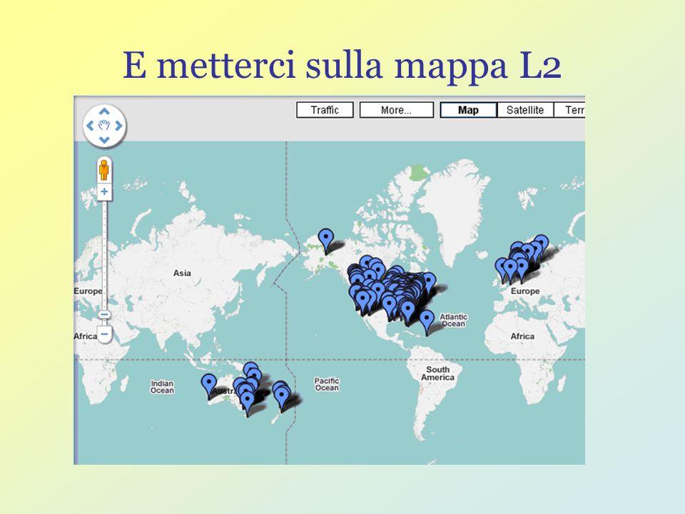 E metterci sulla mappa L2