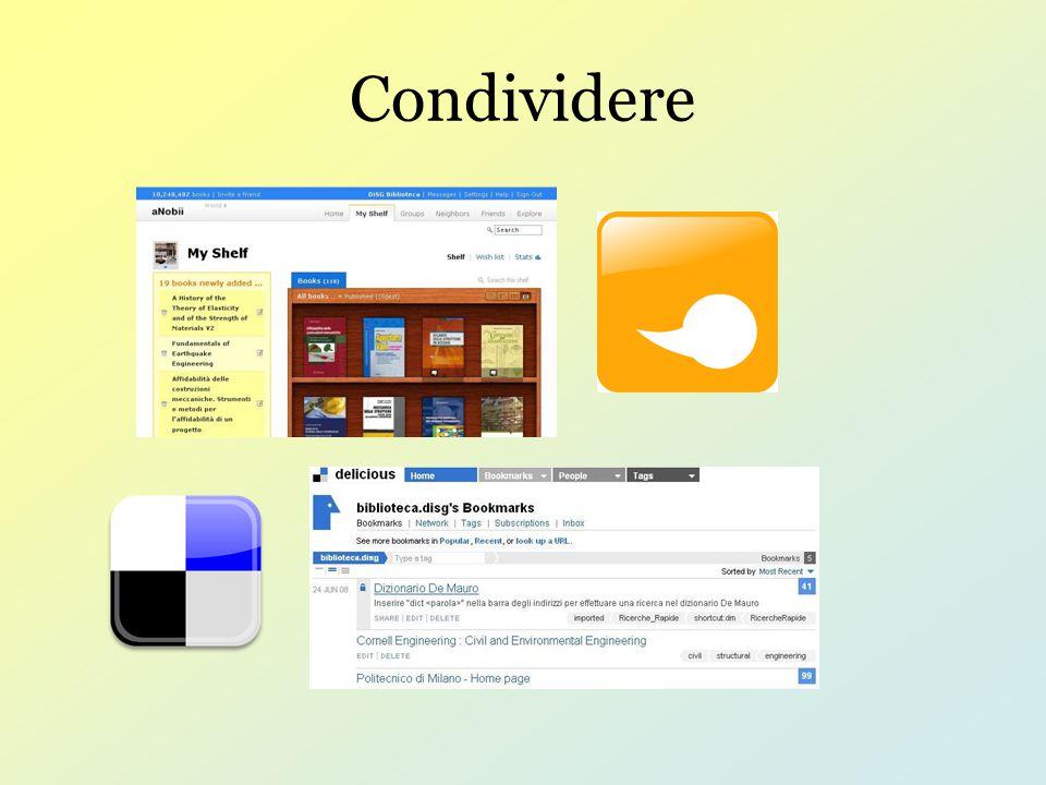 Condividere