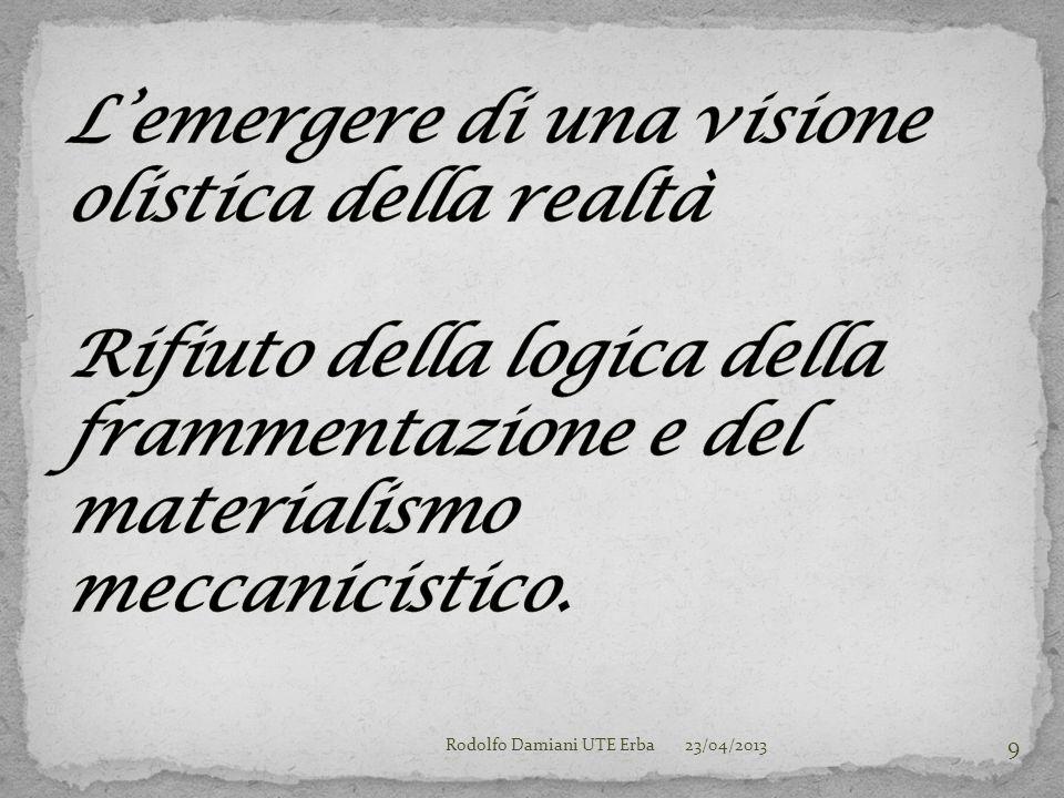 23/04/2013Rodolfo Damiani UTE Erba 9