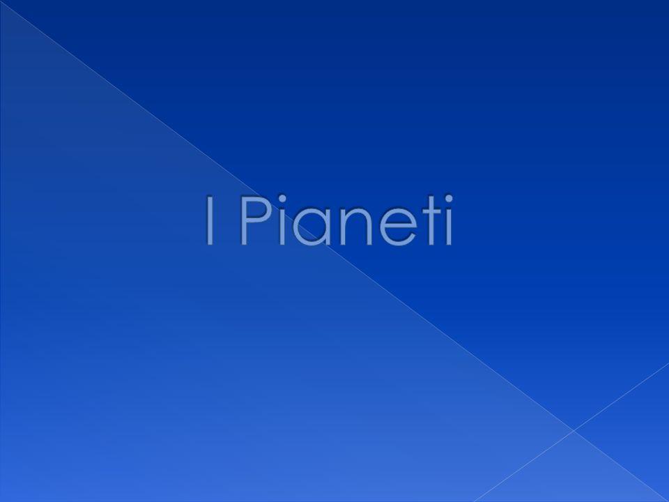 Mercurio Venere Terra Marte Giove Saturno Urano Nettuno