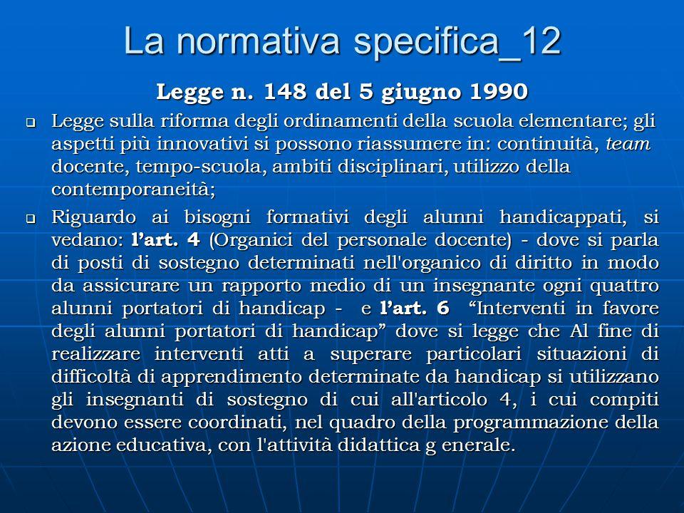 La normativa specifica_12 Legge n.