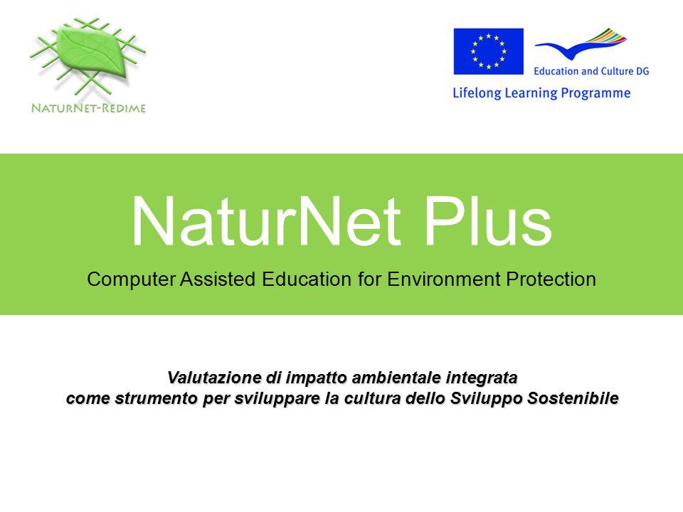NaturNet Plus Sommario Obiettivo Concetti Strumenti NNR usati Analisi dei dati Progettazione didattica Esempi
