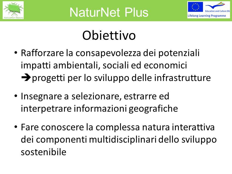 NaturNet Plus Concetti Basati sulla Valutazione di Impatto Ambientale (VIA)  stima dell'impatto per la stabilità dell'eco sistema I Decision-maker considerano gli impatti ambientali prima di decidere la realizzazione di nuovi progetti