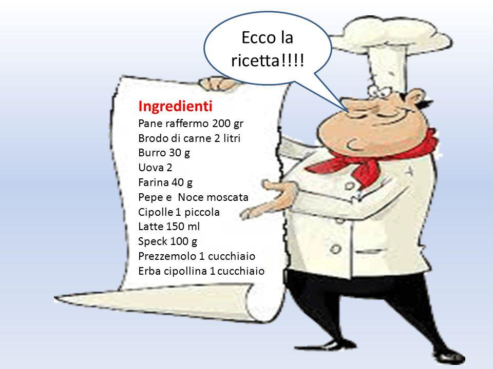 Ecco la ricetta!!!! CANEDERLI (o KNÖDEL) TRENTINO
