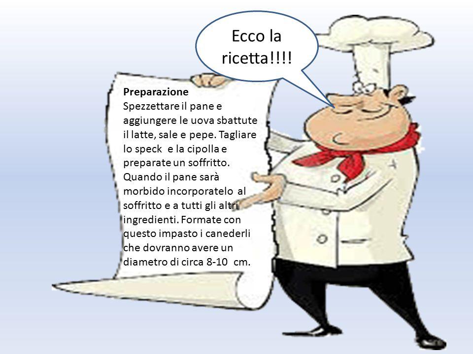 Ecco la ricetta!!!.