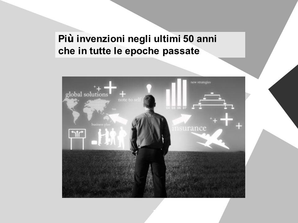Pi ù invenzioni negli ultimi 50 anni che in tutte le epoche passate