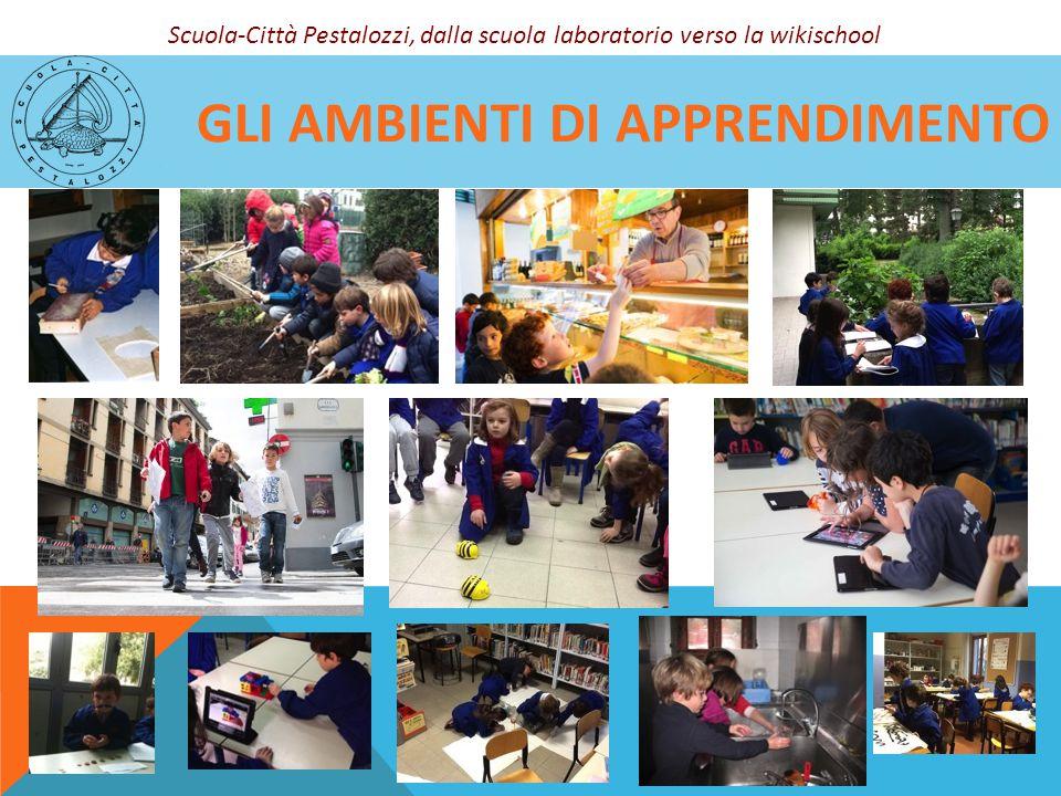 GLI AMBIENTI DI APPRENDIMENTO Scuola-Città Pestalozzi, dalla scuola laboratorio verso la wikischool