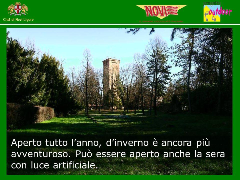Città di Novi Ligure Aperto tutto l'anno, d'inverno è ancora più avventuroso.