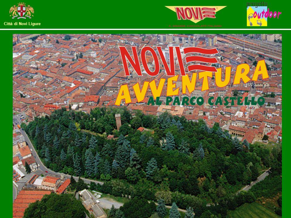 Città di Novi Ligure Posto sulla collina adiacente il centro storico, dalle sue piattaforme si gode il panorama delle colline del Gavi