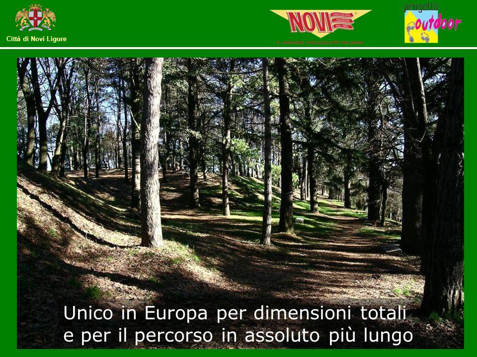 Città di Novi Ligure Il Parco avventura rilancia il principale polmone verde della città grazie ad un'attività eco compatibile, a contatto con la natura