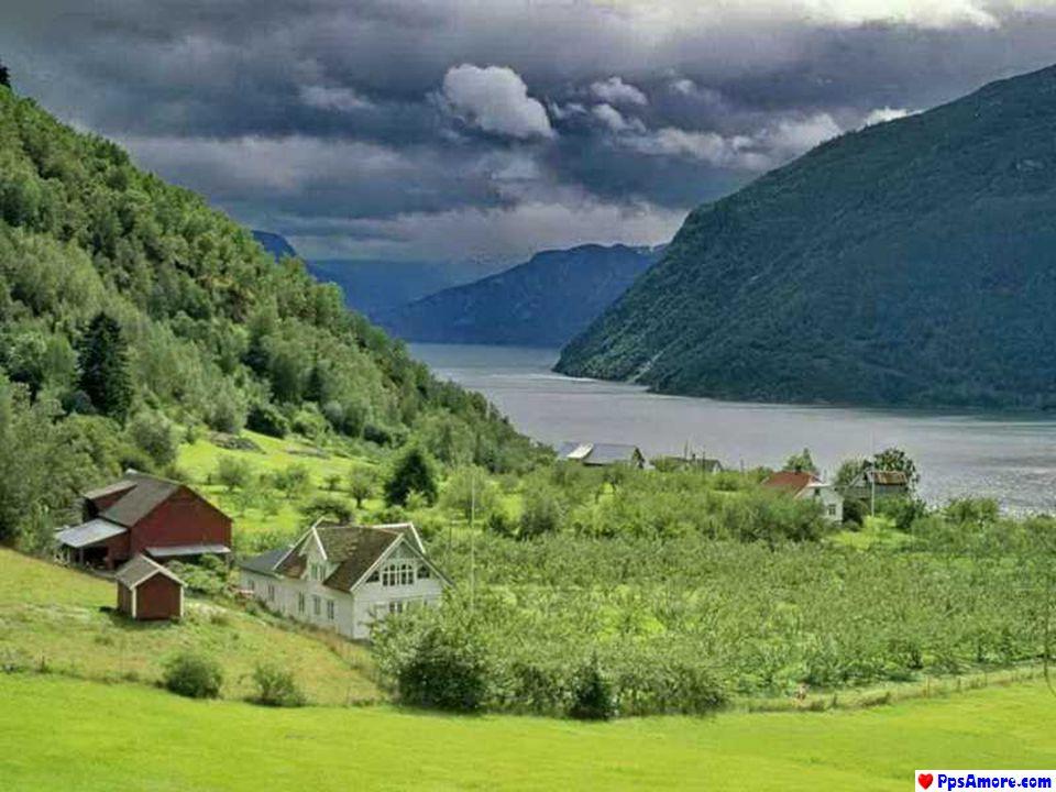 La Norvegia occupa la costa ovest della penisola scandinava con più di 2 500 km (83 000 km se si considerano i litorali dei fiordi e tutte le isole ch