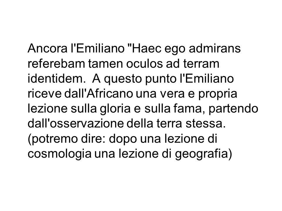 Ancora l Emiliano Haec ego admirans referebam tamen oculos ad terram identidem.