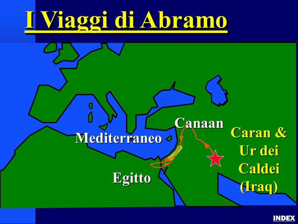 Abraham's Journey INDEX I Viaggi di Abramo Mediterraneo Egitto Caran & Ur dei Caldei (Iraq) Canaan