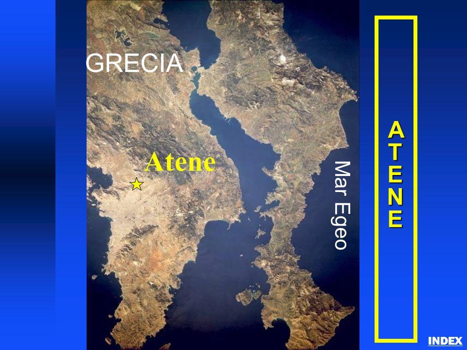 ATENEATENEATENEATENE GRECIA Mar Egeo Atene Athens INDEX
