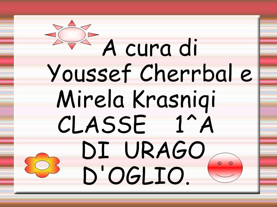 A cura di Youssef Cherrbal e Mirela Krasniqi CLASSE 1^A DI URAGO D'OGLIO.