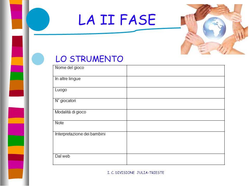 LA II FASE I. C.